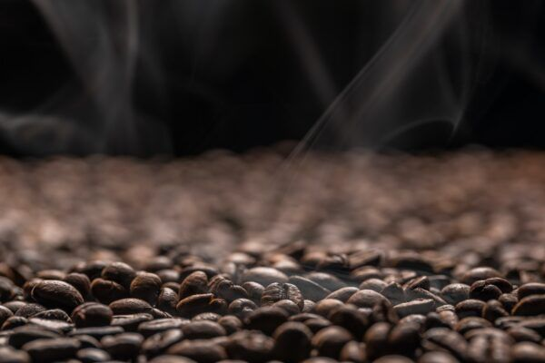 Roasting coffe